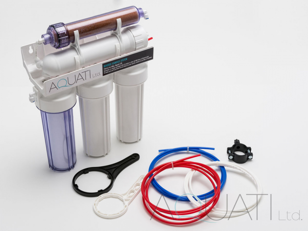 5 Stage Ro Amp Di Resin Reverse Osmosis Water Filter System